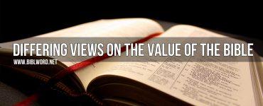 ¿Por qué la Biblia es desestimado y despreciado por muchas personas?