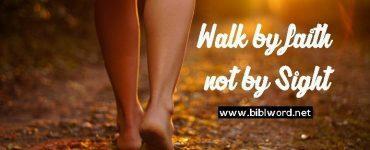 """¿Qué significa """"Caminamos por nuestra fe, no por vista""""?"""
