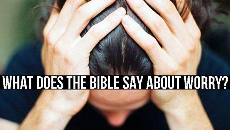 ¿Qué dice la Biblia sobre preocupación?