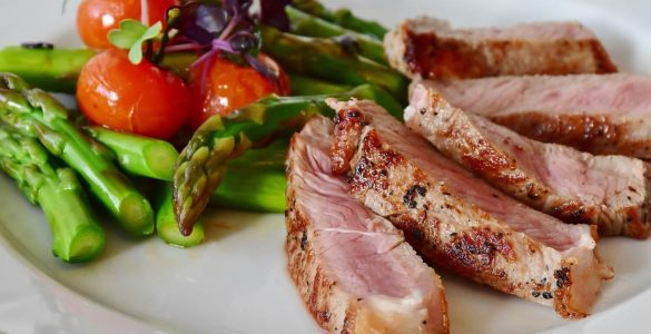 asparagus-steak-veal-steak-veal-