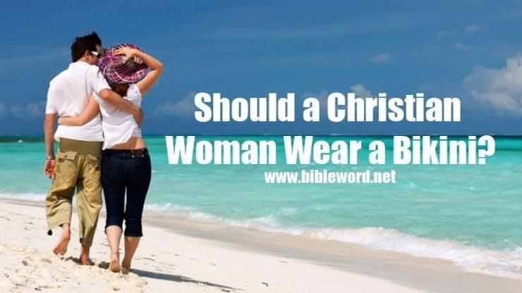 ¿Es licito para una mujer cristiana usar un bikini?