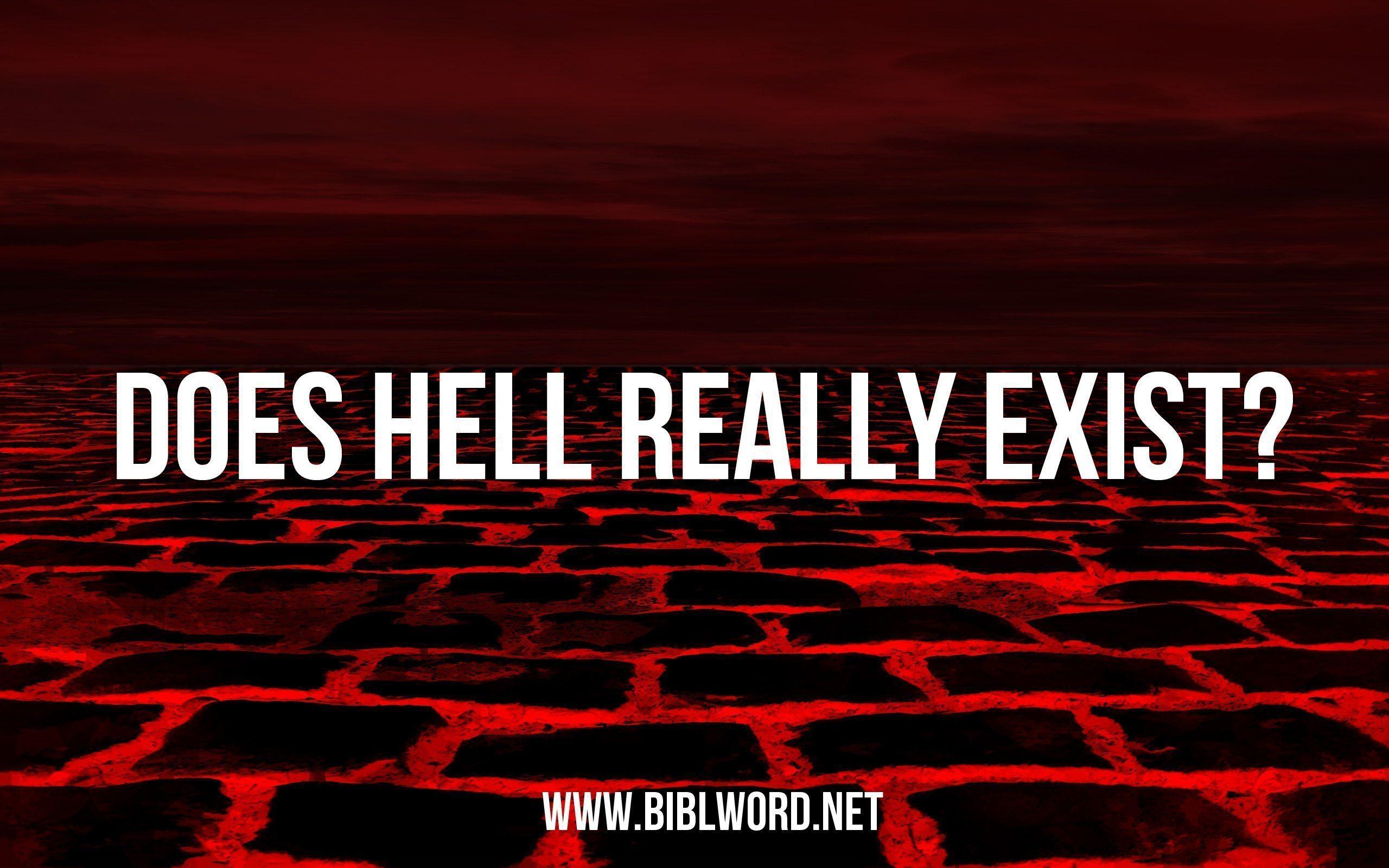 ¿Realmente existe el infierno?