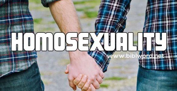 ¿Qué dice la Biblia sobre la homosexualidad?