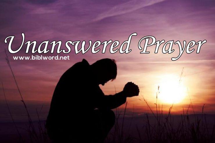 Oraciones no contestadas