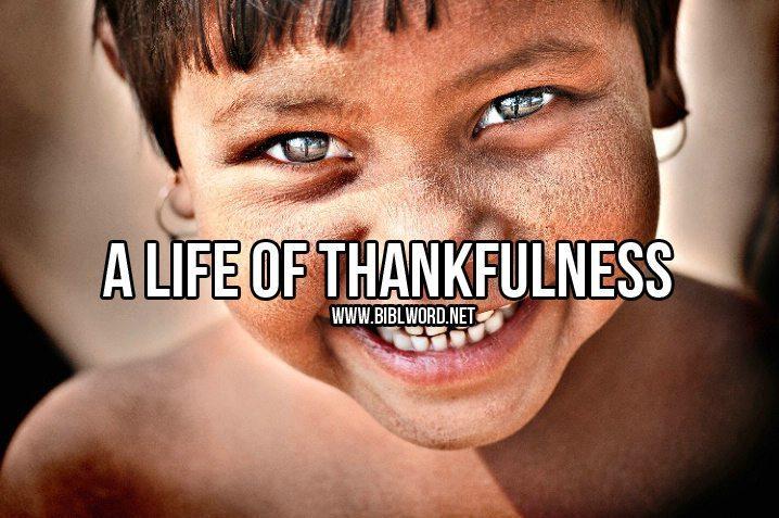 ¿Cómo puedo practicar una vida de agradecimiento?