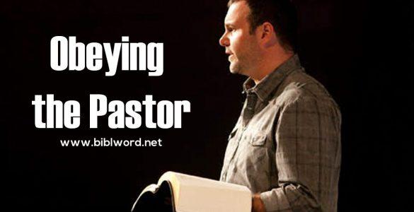 ¿Debo obedecer a mi pastor?
