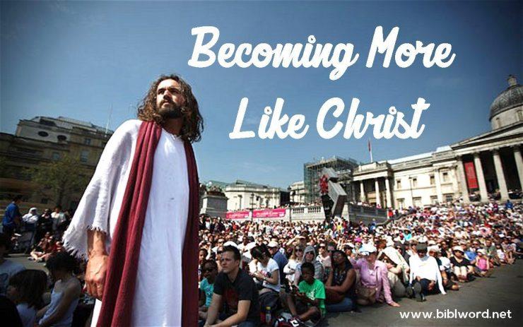 ¿Cómo volverse más como Cristo?