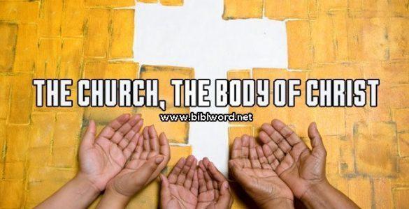 ¿Qué significa que la iglesia es el cuerpo de Cristo?